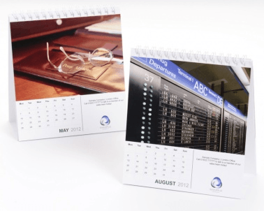 promotional desktop calendars