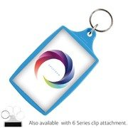 Large Coloured Plastic Keyrings L4