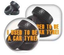 Tyre Brite-Mat Round Coasters