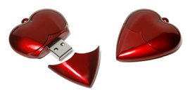 Heart Flashdrives