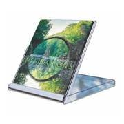 The World In View CD Desk Calendar