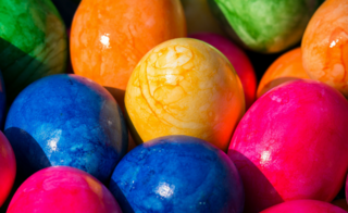 Multi-Coloured Eggs