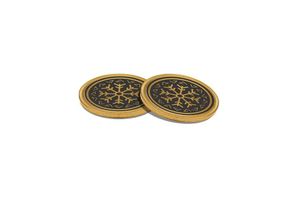38mm Chocolate Medallions