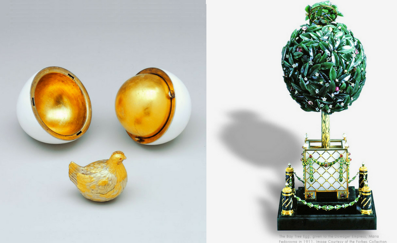 Faberge Eggs-The World of Faberge Timeline