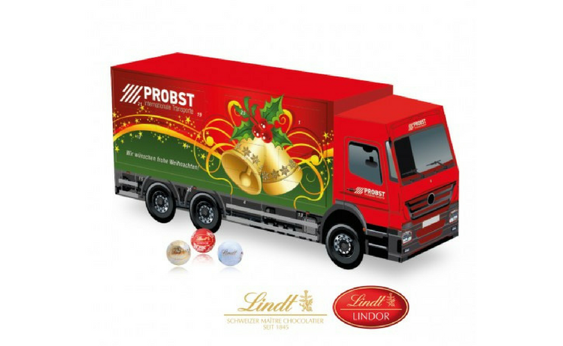 Lindt 3D Truck Advent_Calendars