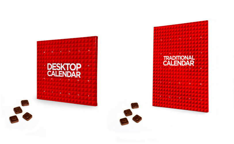 Desktop and Traditional Advent Calendars