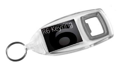 Clear Bottle Opener Keyrings R6