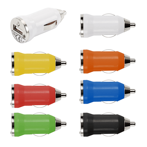 Plastic Car Power Adapters With One USB (3190-1.png)
