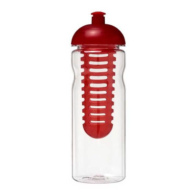 H2O Base Tritan 650ml Dome Lid Bottle and Infuser