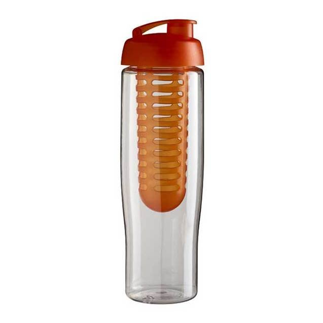 H2O Tempo 700ml Flip Lid Sports Bottle and Infuser