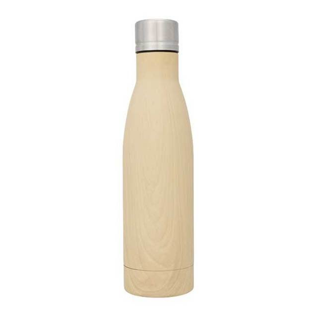 Vasa Wood Copper Vacuum Insulated Bottles