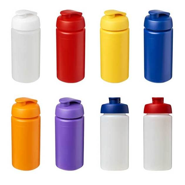 Baseline Plus Grip 500ml Flip Lid Sport Bottles