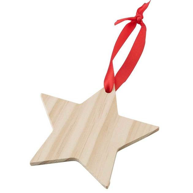 Wooden Star Decorations