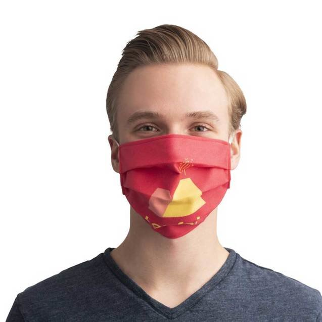 Sublimation Reuseable Face Masks with Elastic Bands