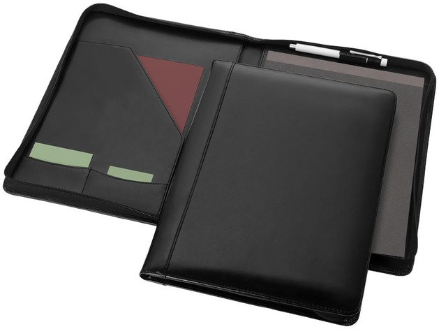Oxford A4 Zipper Portfolios