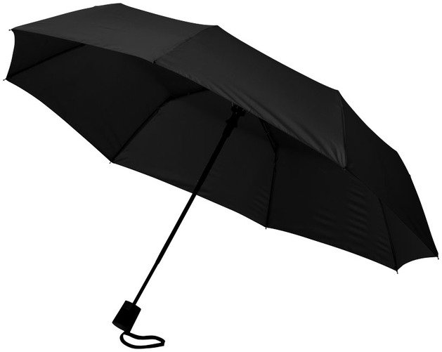 Auto Open Umbrellas with 3-Sections 21inch