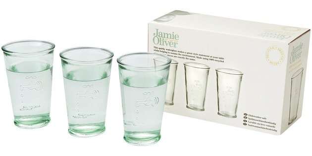 3 Water Glasses by Jamie Oliver