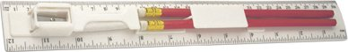 Plastic Rulers and Two Pencil Sets