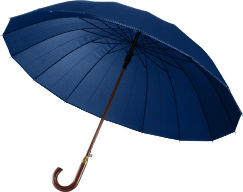 Classic Umbrellas With Solid Coloured Panels