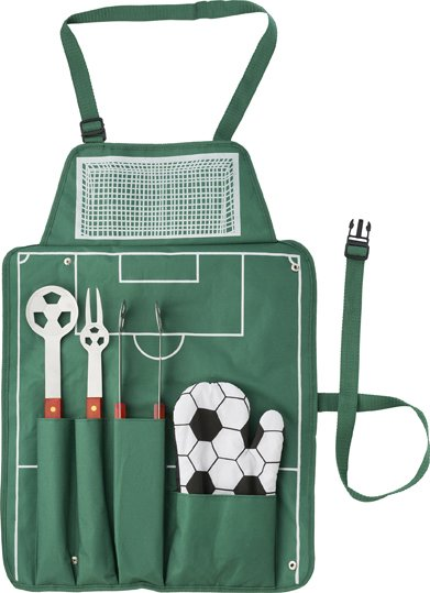 BBQ Sets With A Football Theme And Five Pieces