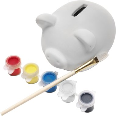 Piggy Bank Made Of Plasters