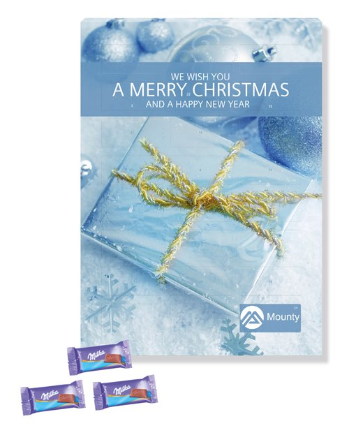A4 Luxury Milka Desktop Calendars