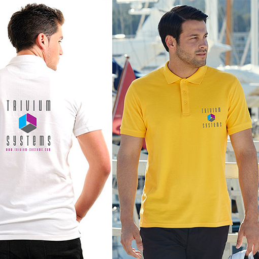 Fruit of the Loom Pique Polo Shirts (Unisex)