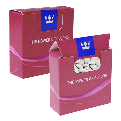 Sweet boxes with Powder Mint Pastilles