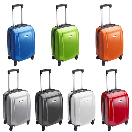 ABS Hard Case Trolley With Four Spinner Wheels