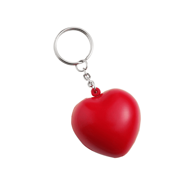 Anti-stress Heart And Key Holders