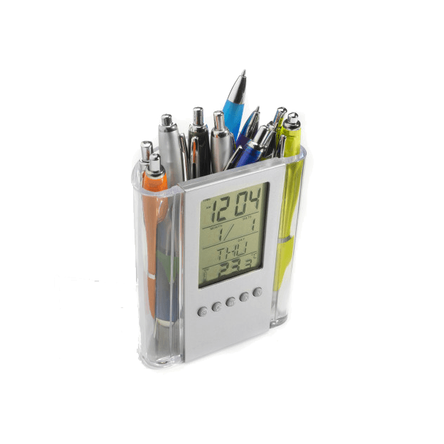 Pen Holders With Clocks