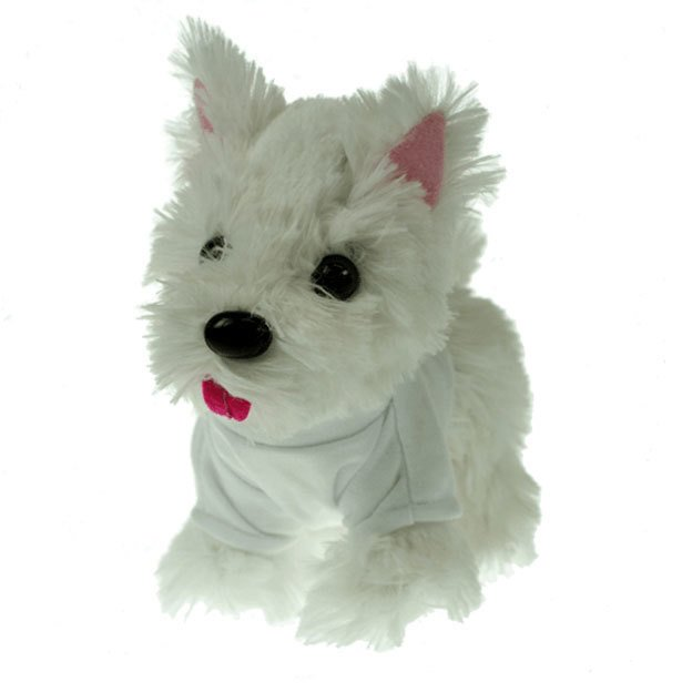 White Westie T-shirt Dogs