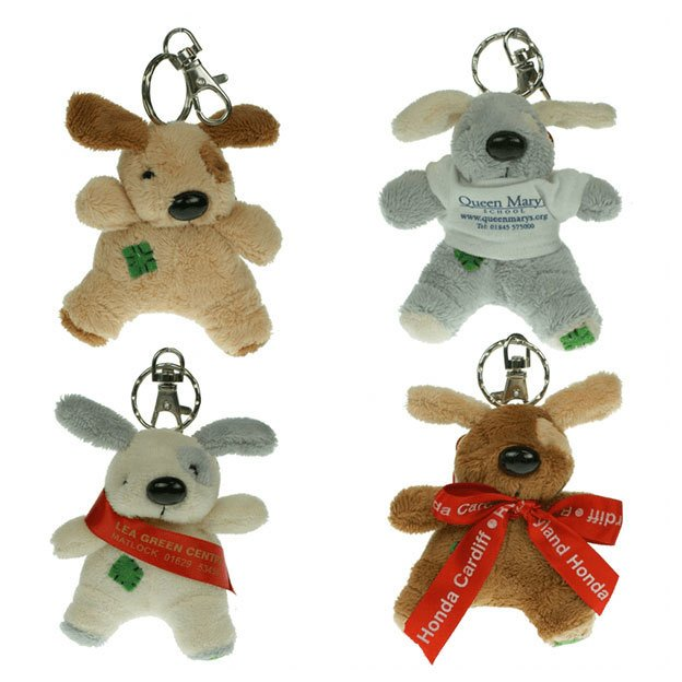 Keychain Gang Bow Dogs