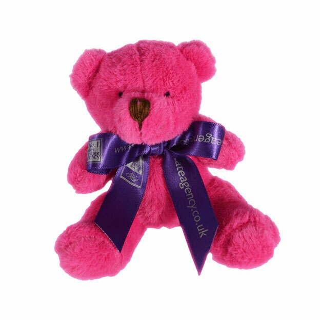10cm Mini Coloured Bow Bears