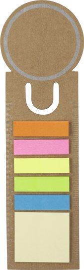 Card Bookmarks With Sticky Memo Pads