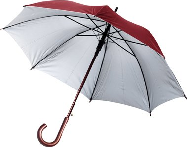 Automatic Umbrellas With A Silver Underside
