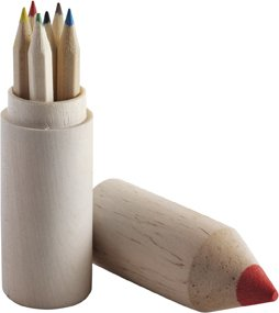 Pencil Holders With 6 Pencils