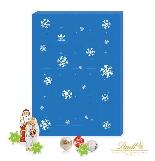 A4 Luxury Lindt Wall Calendars