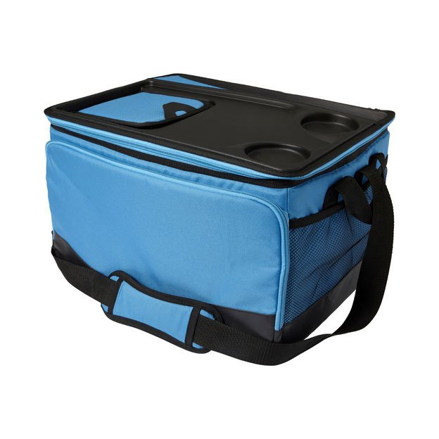 Polyester Cooler Bags with Hard Top Lid
