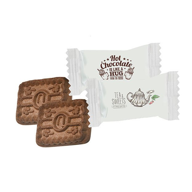 Cocoa Biscuit In a Flow Pack