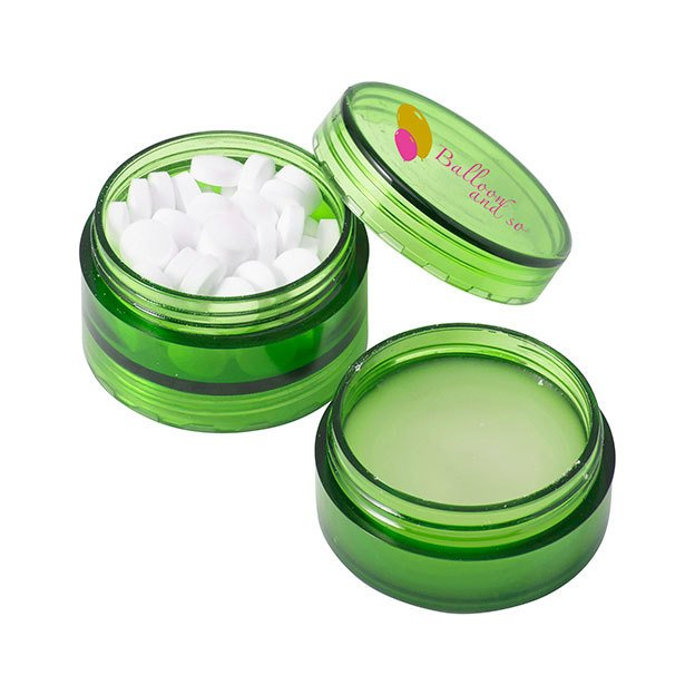 Mint Pots And Separate Lip Balm