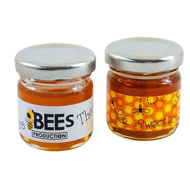 Mini Jars Of Honey