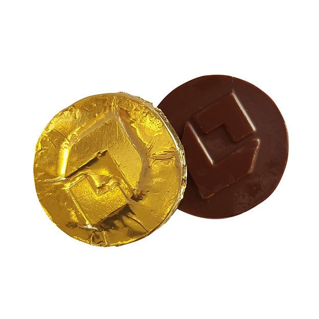 45mm Round Chocolate Coins