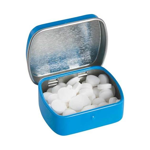 Mini Hinged Tin With Extra Strong Mints