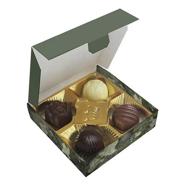 Chocolate Boxes With 4 Pralines