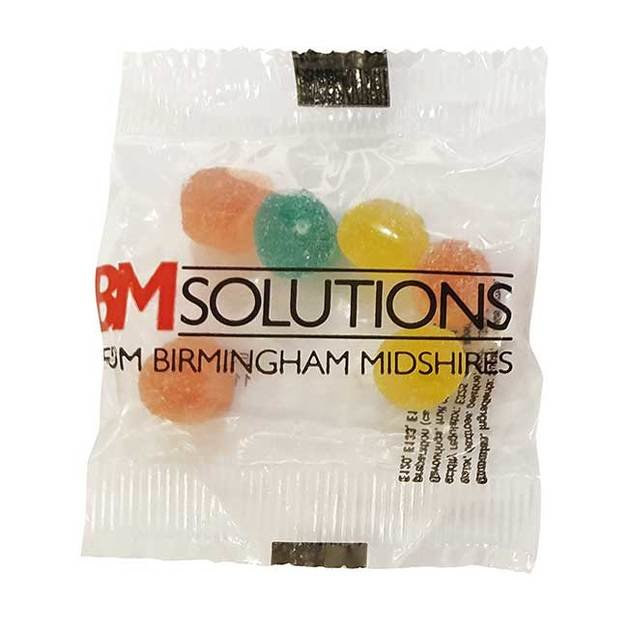 Fruit Pastilles in a Flow Bag 10g