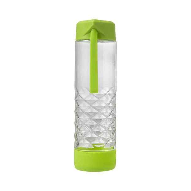 Glass Drinking Bottles with Carry Strap