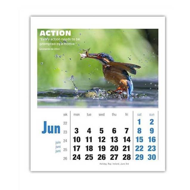 Inspirations Mini Desk Calendars