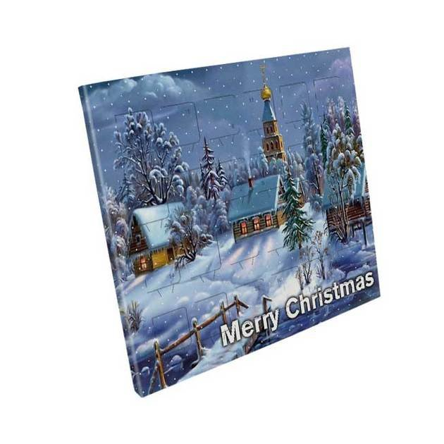 Foil Lidded Advent Calendars