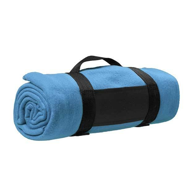 Fleece Blankets With A Nylon Carry Strap